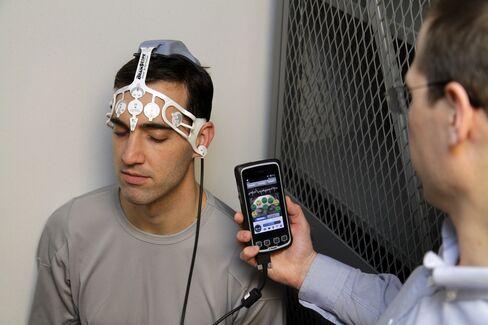 BrainScope Handheld Device