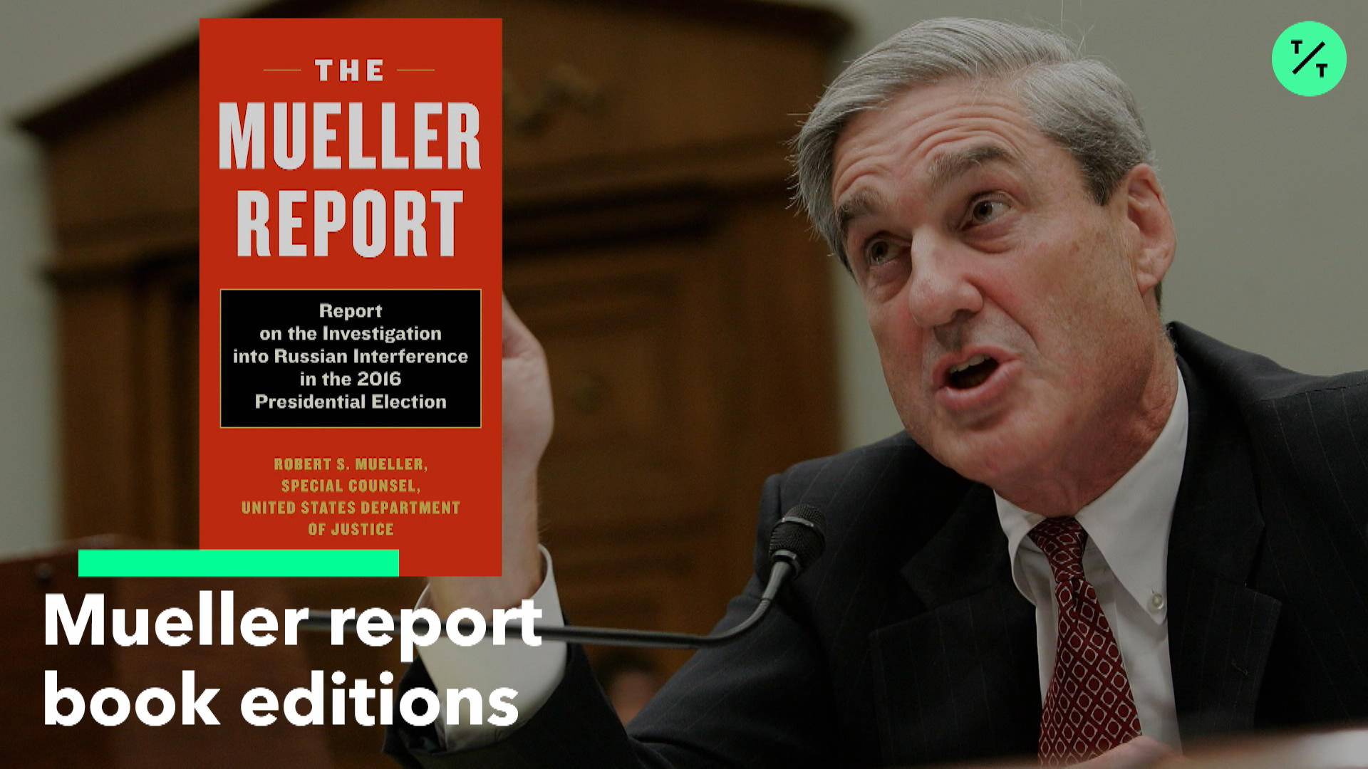 Mueller report book editions