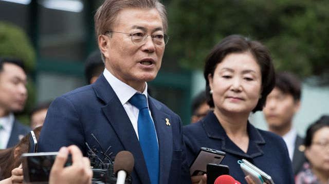 After S. Korean leader eyes North trip, Trump offers US invite