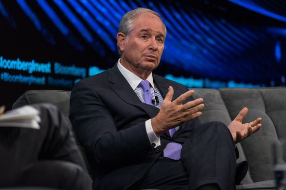 Blackstone Group's Schwarzman Among Biggest June Midterm Donors