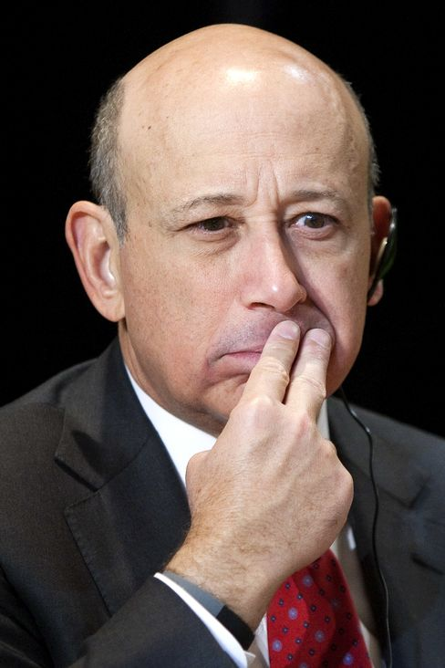 Lloyd Blankfein, CEO of Goldman Sachs Group Inc.