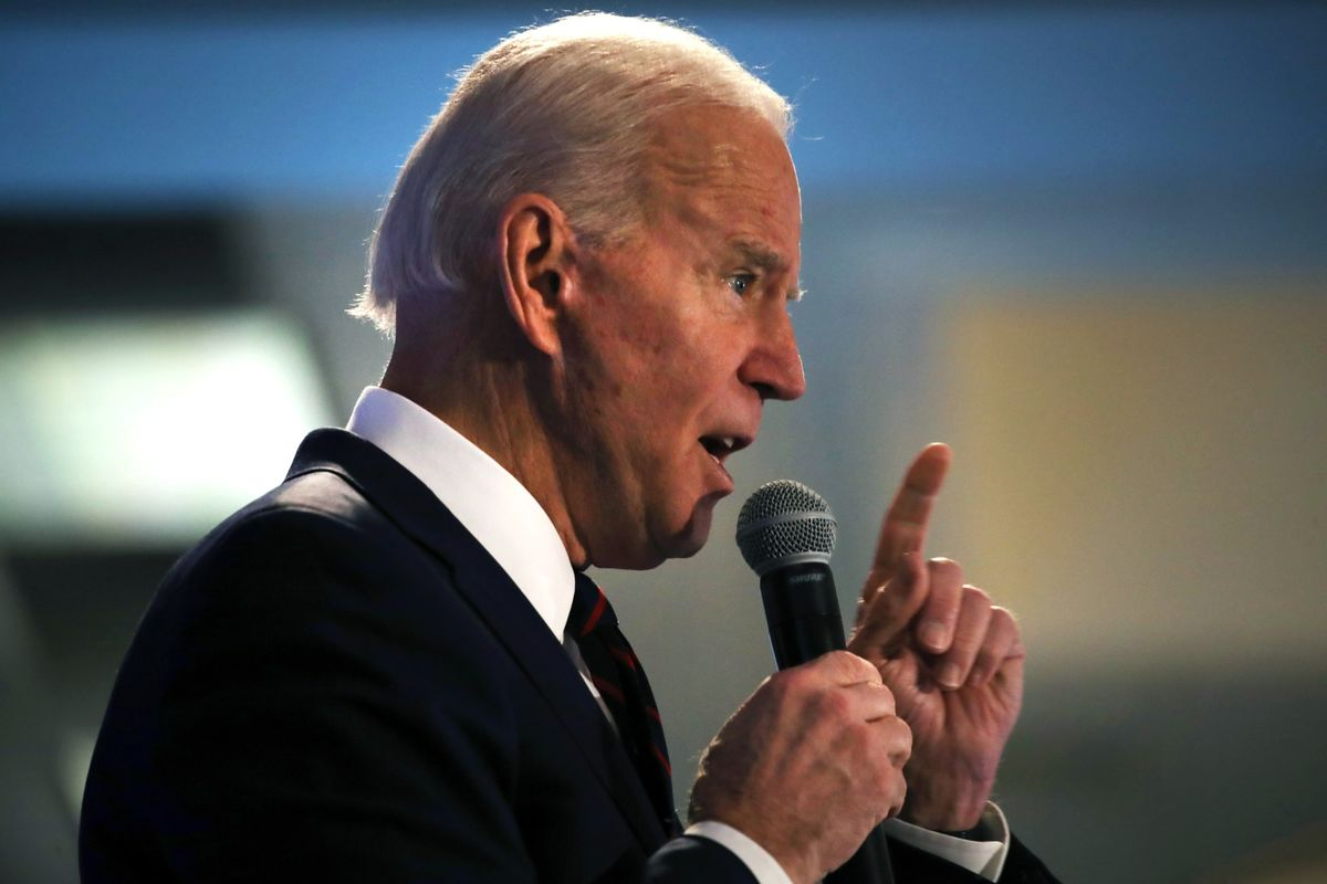 Biden Says Video Released by Sanders Campaign Is 'a Lie'