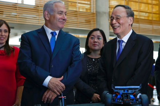 Israel Is Stuck in the Middle of Trump's Conflict with China