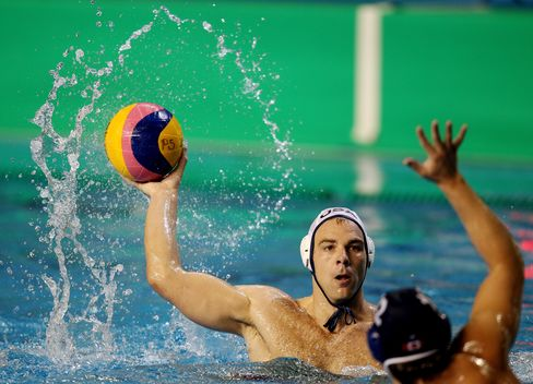 U.S. Water Polo Player Peter Hudnut