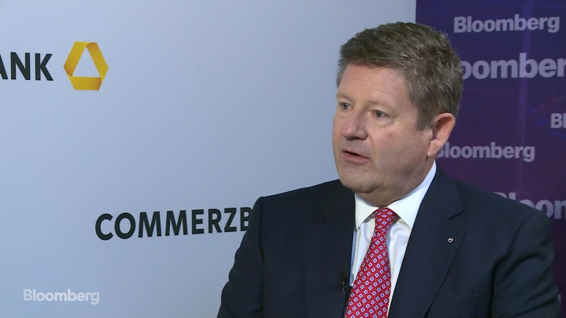 Stephan Engels, CFO of Commerzbank, on Strategy, Profit, Market Conditions, Rates, German Economy