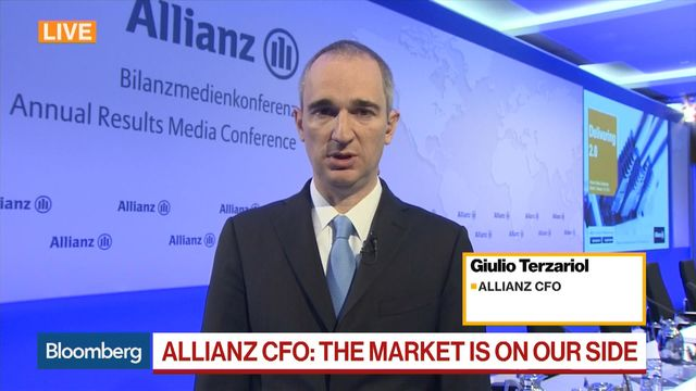 Natural disasters, U.S. tax reform hit Allianz in 2017