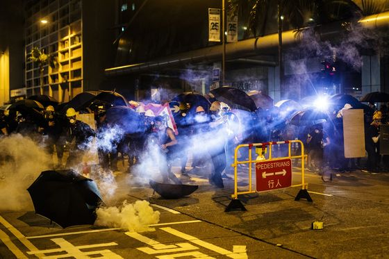 Hong Kong Assets Turn Toxic as Trade War and Protests Cloud Outlook