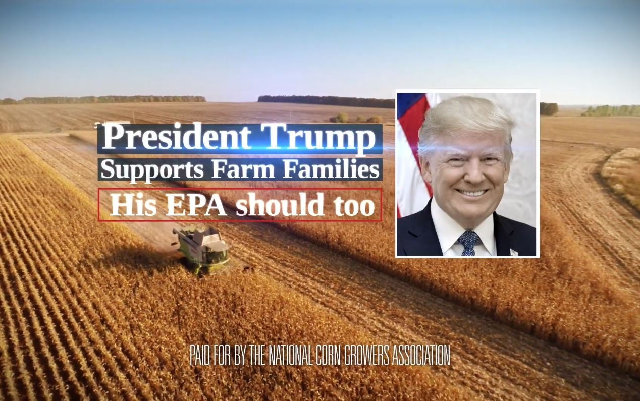 relates to Corn Farmers Use Fox Ads to Appeal to Trump in Biofuel Fight