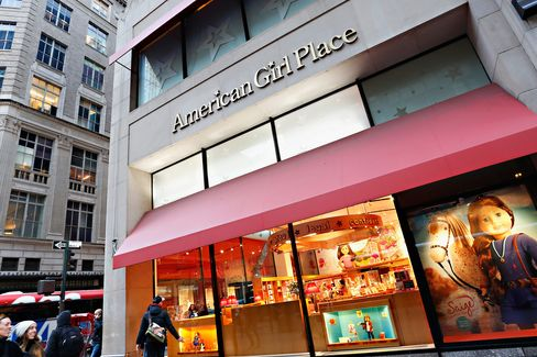 The American Girl Place flagship store in New York City.