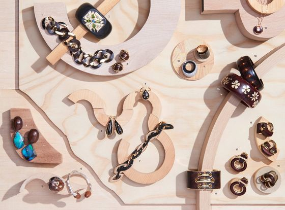 The Latest Trend in Jewelry Is Sustainably Sourced Wood
