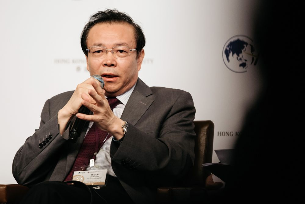 Lai Xiaomin in 2016.