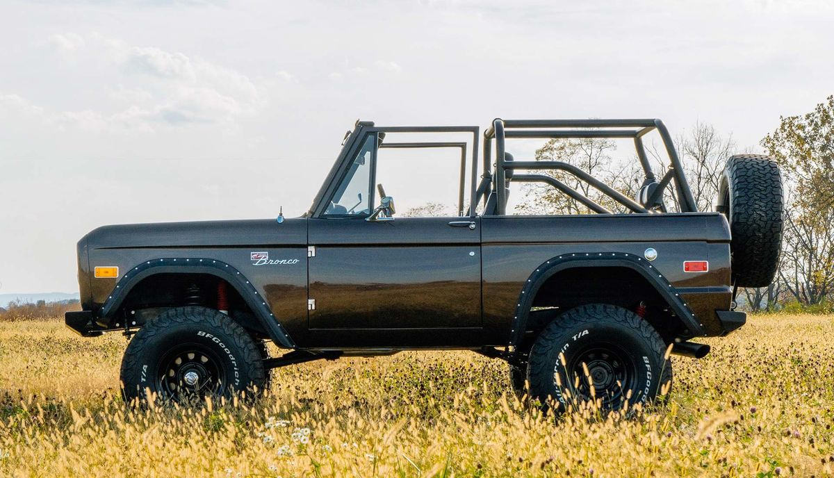 2020 ford bronco fever heats up with six-figure vintage restomods