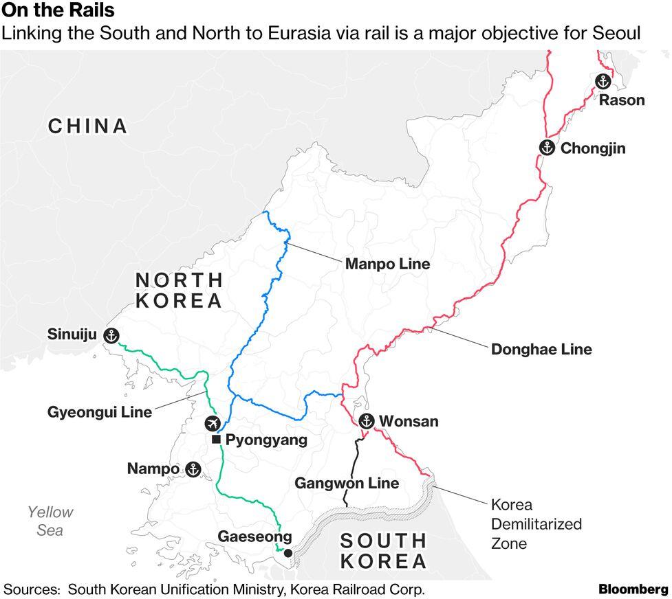 These Maps Show How To Unlock North Korea S Economy Bloomberg