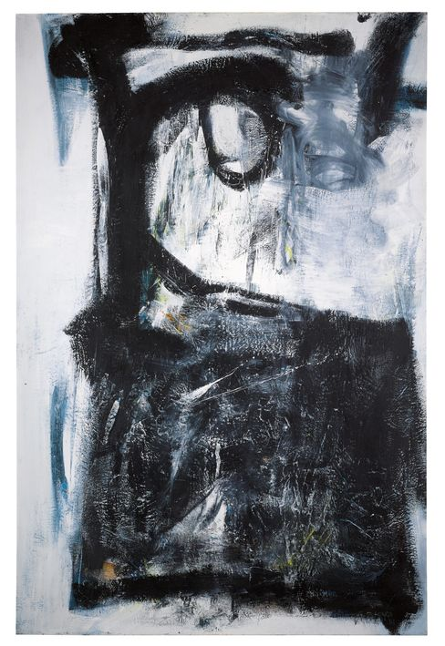 """Witness"" (1961) by Peter Lanyon."