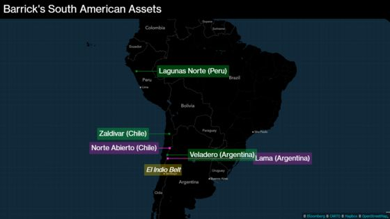 Barrick Gold Faces Challenges to Develop Latin America Mines