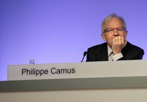 Alcatel-Lucent SA Chairman Philippe Camus