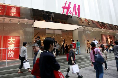 H&M Chief Persson Sees China Overtaking Germany as Top Mark
