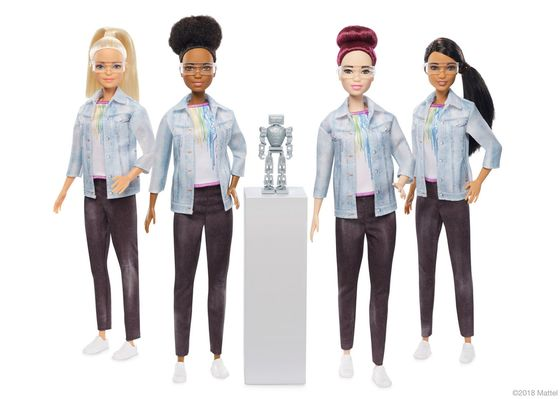 Robotics Barbie Joins Corporate Chorus Calling for Diversity