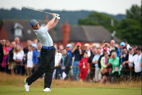 Golfer Rory McIlroy