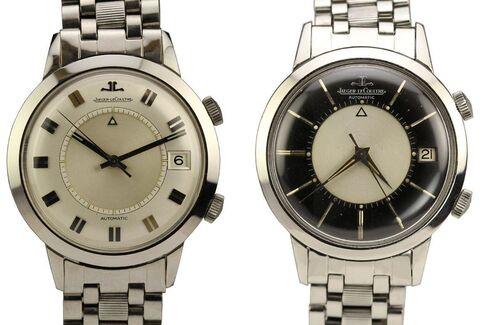 The original Jaeger-LeCoultre Memovox was a simple no-nonsense alarm watch.