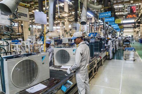 ダイキンのクーラー工場