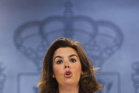Deputy Prime Minister Soraya Saenz de Stantamaria