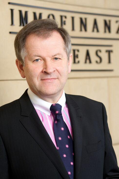 Immofinanz AG CEO Eduard Zehetner
