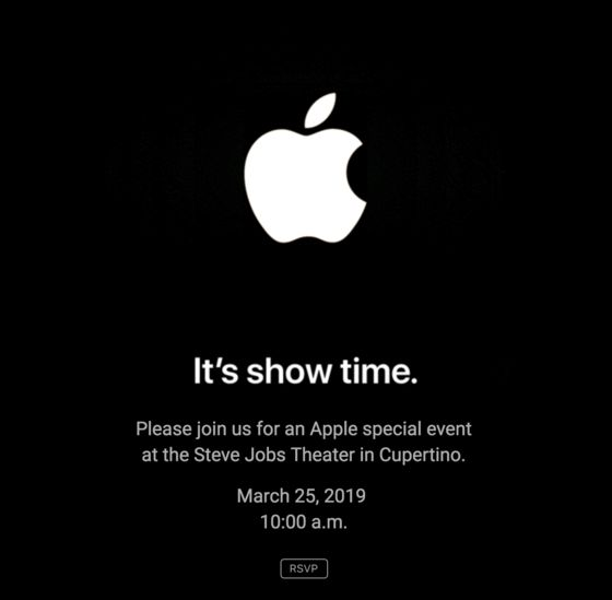 Apple Announces March 25 Event to Unveil Video, News Services