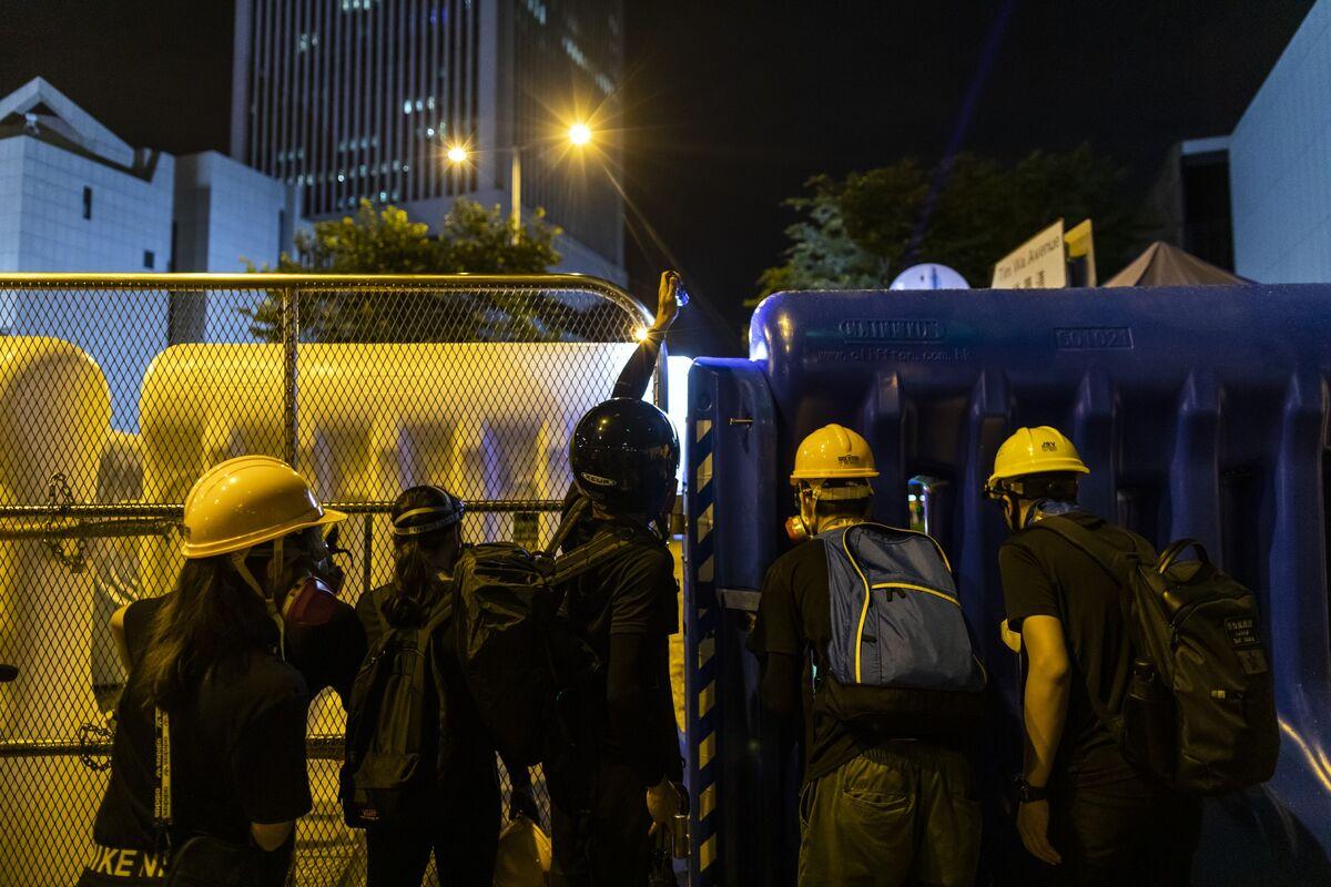 Hong Kong Protests Enter Crucial Period Before China's Big Anniversary