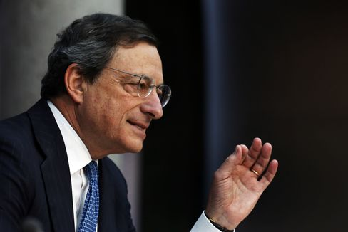 ECB Holds Rates as Draghi Stakes Credibility on Bond-Buying Plan