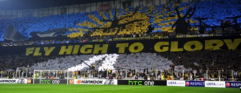 Turkish Clubs Fenerbahce, Besiktas Receive European Soccer Bans
