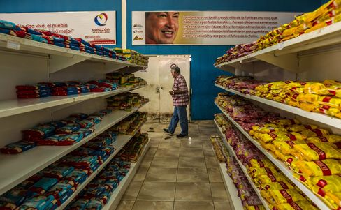 Government Subsidized Grocery Store in Venezuela