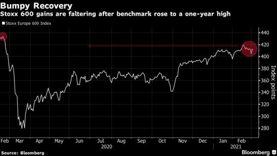 European Stocks Advance a Second Day as Investors Return to Risk