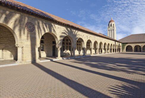 スタンフォード大学の中庭