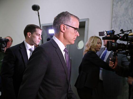 FBI'sMcCabe Opened Russia Probe on Concern Case Might 'Vanish'