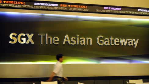 Singapore Exchange Says Derivatives Trading Resumes After Glitch