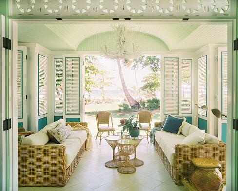 The interior of the Playa Grande Beach Club, where the Taryn Toomey Retreatment is held.