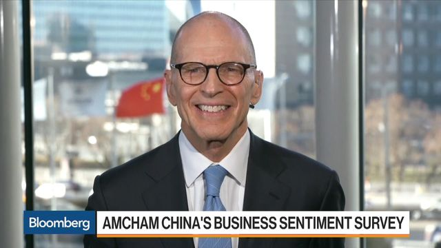 America inc more upbeat about US-China relations