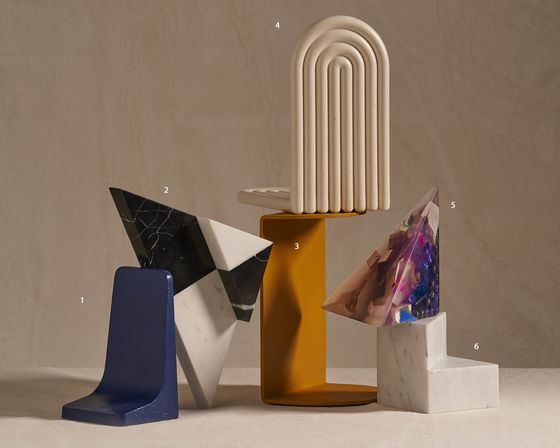 Forget Book Covers. It's Bookends That Your Library Is Judged By
