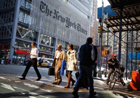 New York Times Said to Seek Tech-Savvy CEO for Comeback