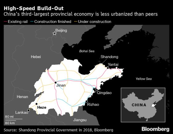 China Bets $600 Billion on Infrastructure to Revive Growth