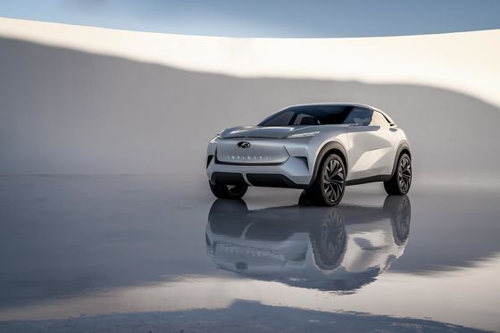Infiniti Electric QX Boasts Beauty and Power. But It's Not Real