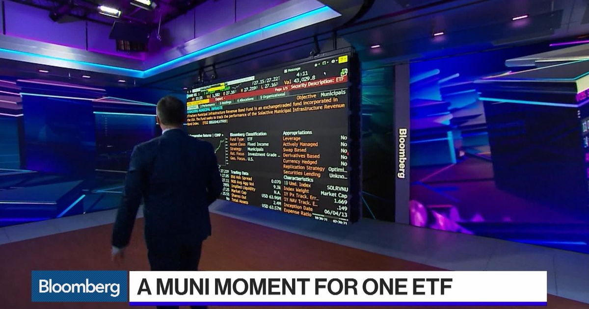 A Muni Moment For One Little Known Etf Bloomberg