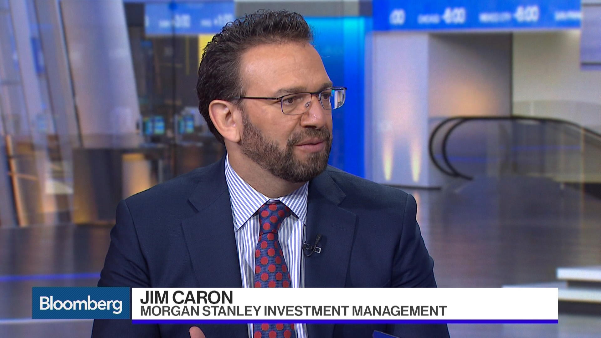 Jim Caron Potential For One Fed Hike This Year Bloomberg