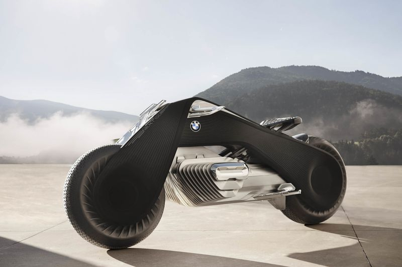 bmw motorrad vision next 100 - bloomberg