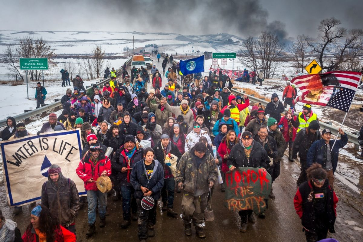 Oil Companies Persuade States to Make Pipeline Protests a Felony