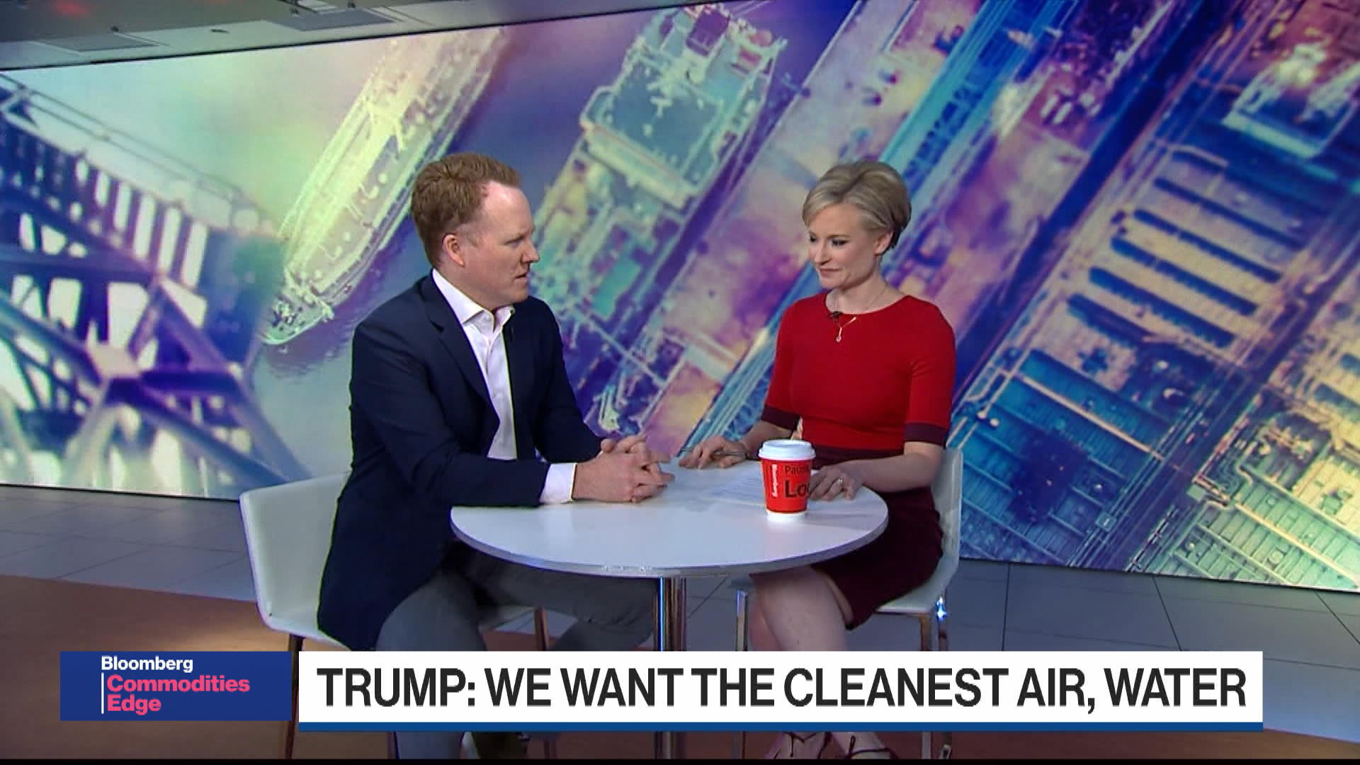 Trump Washes His Hands of Climate Change: Liam Denning