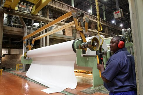 Wood Pulp Mill Operated By World's Biggest Producer Sappi Ltd.