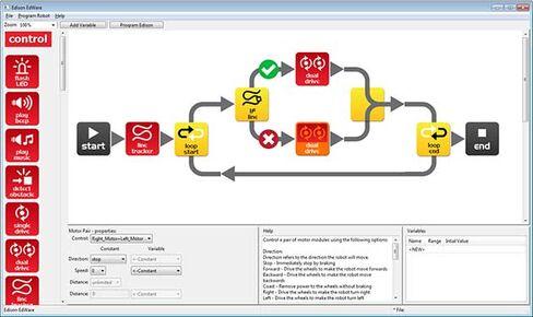 Edison EdWare software