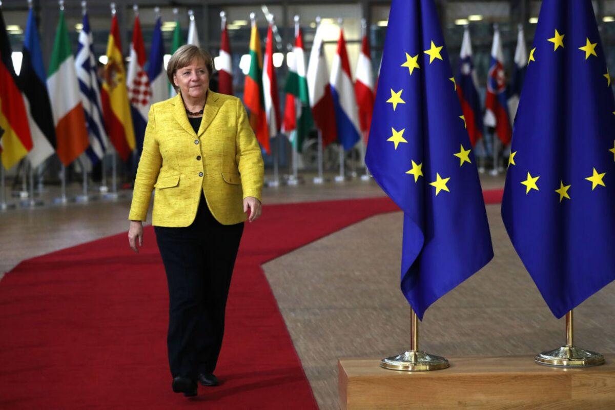 Angela Merkel Has Finally Become Europe S Leader Bloomberg